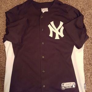Derek Jeter batting jersey